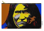 Art Homage Andy Warhol Geronimo 1887-2009 Carry-all Pouch