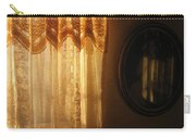 Art Homage Edward Hopper Winter Light Window Curtain Reflection Bedroom Casa Grande Arizona 2005 Carry-all Pouch
