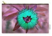 Artistic Bottle Brush Flower Carry-all Pouch