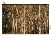 Aspen Forest In Fall Carry-all Pouch