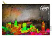 Atlanta Skyline Watercolor Carry-all Pouch