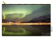 Aurora Borealis Over Nares Lake Carry-all Pouch