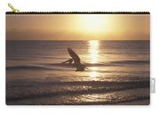 Australian Pelican Glides At Sunrise Carry-all Pouch