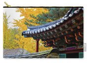 Autumn Color At Namsangol Folk Village Carry-all Pouch