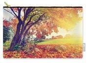 Autumn Fall Park Carry-all Pouch
