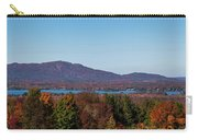 Autumn Trees At Lakeshore, Brome Lake Carry-all Pouch