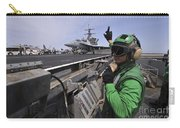 Aviation Boatswain's Mate Signals Carry-all Pouch by Stocktrek Images