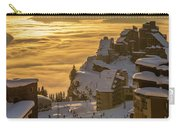 Avoriaz At Sunset Carry-all Pouch