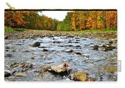 Babbling Brook Carry-all Pouch by Frozen in Time Fine Art Photography