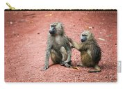 Baboons In African Bush Carry-all Pouch