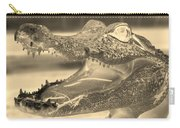 Baby Gator Neg Dark Sepia Carry-all Pouch