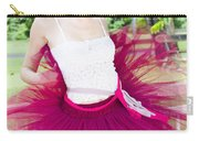 Ballerina Stretching And Warming Up Carry-all Pouch