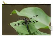 Banded Pennant Dragonfly Carry-all Pouch