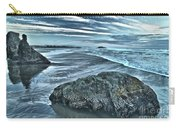 Bandon Beach Swirls Carry-all Pouch