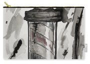 Barber Pole Carry-all Pouch by The Styles Gallery