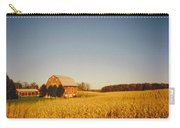 Barn And Corn Field Carry-all Pouch