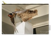Barn Swallow Carry-all Pouch by Scott Linstead