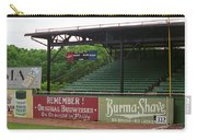 Baseball Field Burma Shave Sign Carry-all Pouch by Frank Romeo