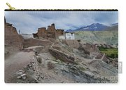 Basgo Monastery In Basgo Ladakh India Carry-all Pouch