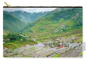 Batad Village And Unesco World Heritage Carry-all Pouch