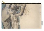 Bather Drying Herself Carry-all Pouch