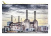 Battersea Power Station London Snow Carry-all Pouch