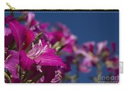 Bauhinia Purpurea - Hawaiian Orchid Tree Carry-all Pouch