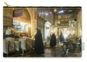 Bazaar Market In Isfahan Iran Carry-all Pouch
