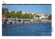 Beach In Aegina Town Carry-all Pouch