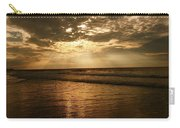 Beach Sunrise Carry-all Pouch by Nelson Watkins