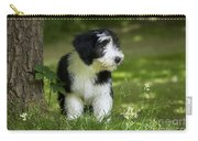 Bearded Collie Puppy Carry-all Pouch