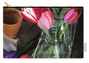 Beautiful Spring Tulips Carry-all Pouch
