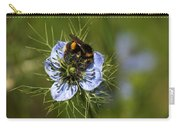 Bee Collecting Pollen Carry-all Pouch