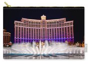 Bellagio Hotel And Casino At Night Carry-all Pouch