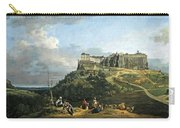 Bellotto's The Fortress Of Konigstein Carry-all Pouch