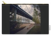 Ben Franklin Bridge Carry-all Pouch by Katie Cupcakes