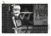 Betty Boop 1 Carry-all Pouch by Frank Romeo