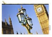 Big Ben And Palace Of Westminster Carry-all Pouch