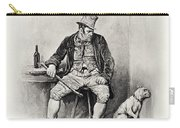 Bill Sykes And His Dog, From Charles Carry-all Pouch