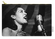 Billie Holiday (1915-1959) Carry-all Pouch by Granger