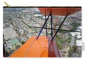 Biplane Over San Diego Carry-all Pouch