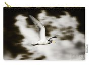Bird Flying In The Clouds Carry-all Pouch
