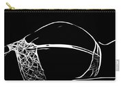 Black And White Pleasure Carry-all Pouch