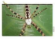 Black And Yellow Garden Spider Carry-all Pouch