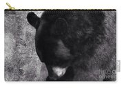 Black Bear Curtsy  Carry-all Pouch