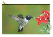 Black Chinned Hummingbird Carry-all Pouch