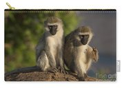 Black-faced Vervet Monkey Carry-all Pouch