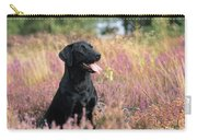 Black Labrador Dog Carry-all Pouch