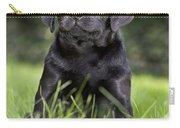 Black Labrador Puppy Carry-all Pouch