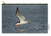 Black Skimmer Eating Fish Carry-all Pouch